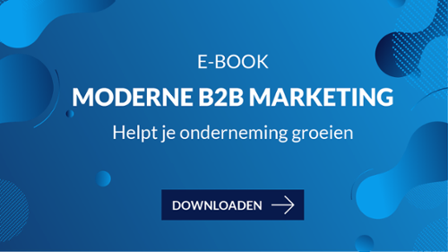 E-book Moderne B2B Marketing