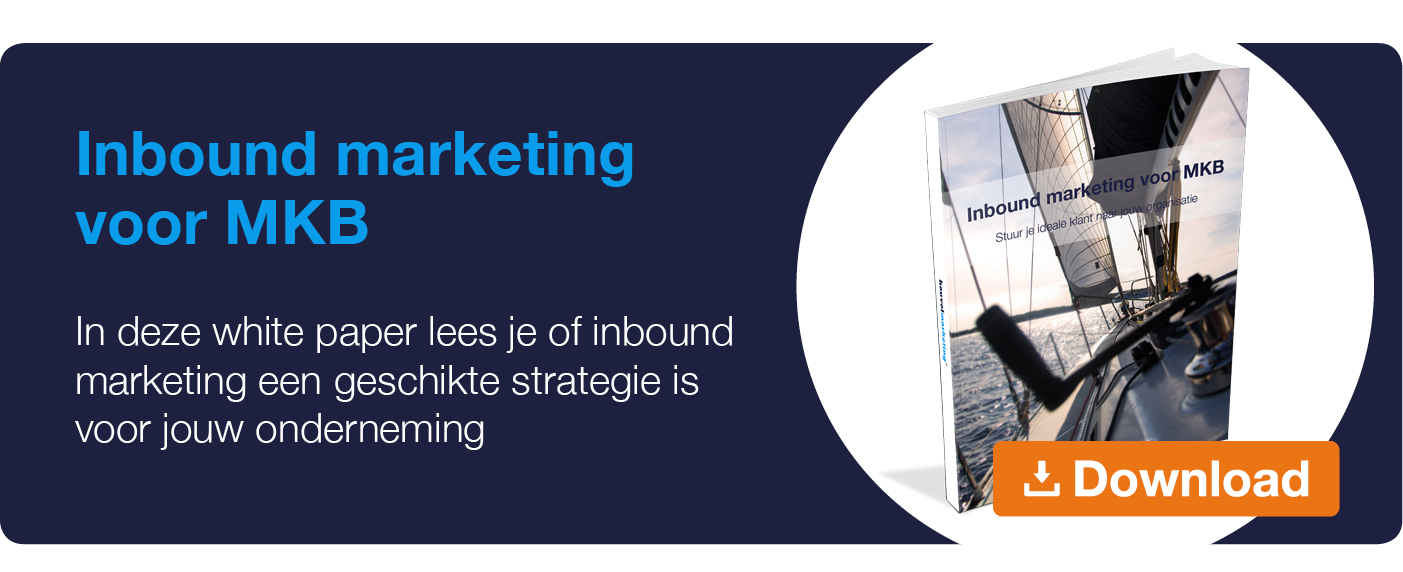 White Paper Inbound Marketing MKB