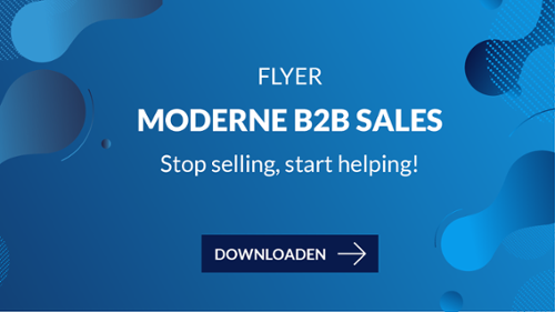 Moderne B2B Sales flyer