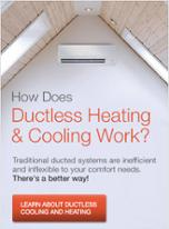 Why ductless heating & cooling is better