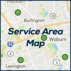 Burlington MA Heating Air Service Area