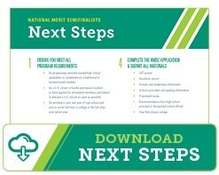 Download National Merit Semifinalist Next Steps