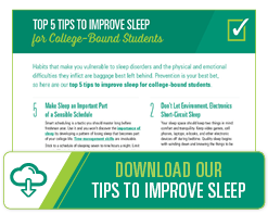 Download Our Tips to Improve Sleep Guide