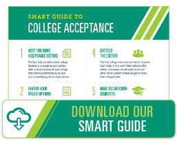 Download Our Smart Guide to College Acceptance