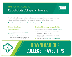 Download our College Travel Tips