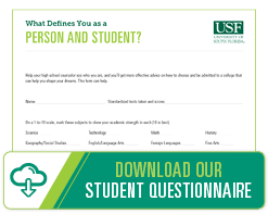 Student Questionnaire for High School Students and Counselors