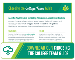 Download Our Choosing The College Team Guide