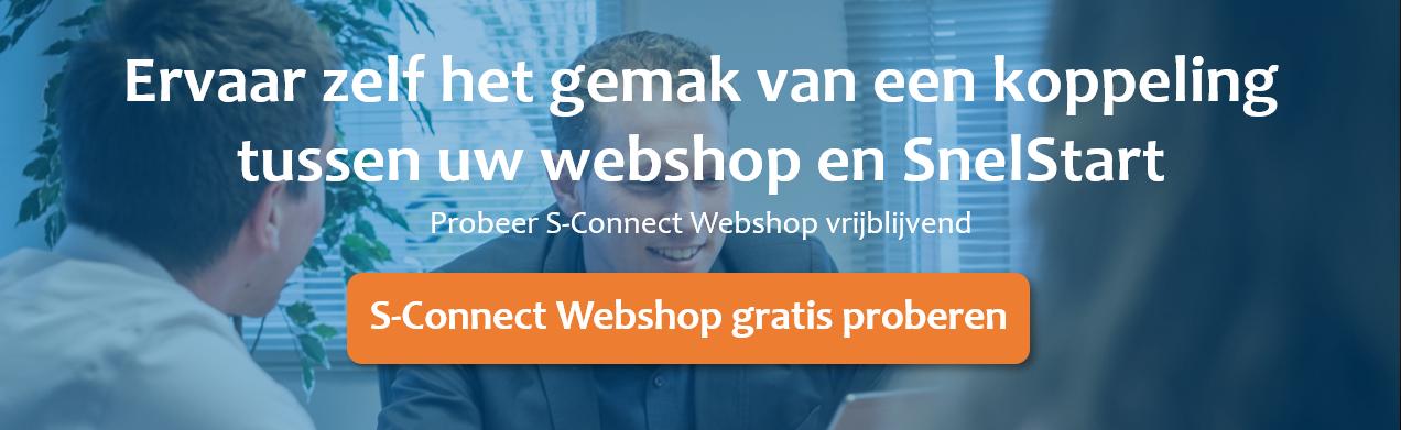 S-Connect Webshop gratis proberen