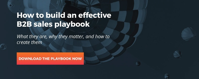 B2B sales playbook
