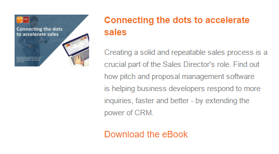 Connecting the dots to accelerate sales