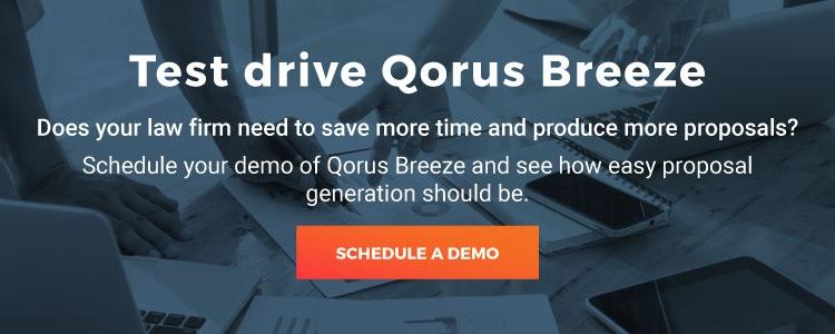 Test drive Qorus Breeze demo
