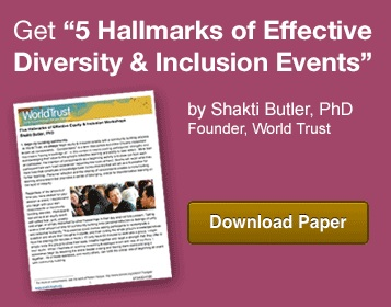 "Download ""5 Hallmarks of Effective Diversity & Inclusion Events"" by Shakti Butler, PhD"