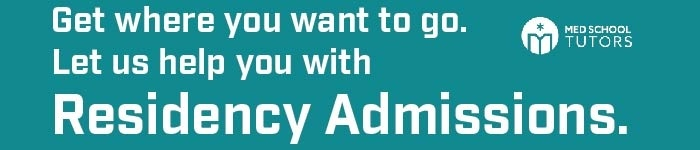 Let us help you with Residency Admissions
