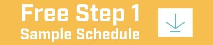 download free USMLE step 1 sample schedule