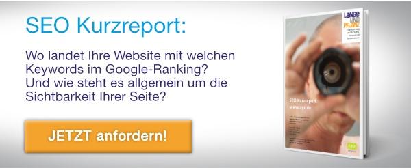 kostenfreier SEO-Kurzreport