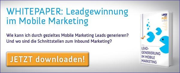 Whitepaper Leadgewinnung im Mobile Marketing Download