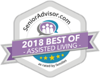 Senior Advisor 2017 Best of senior living Vista Springs Macedonia