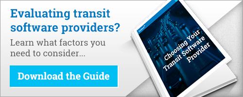 choosing your transit software provider ebook