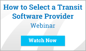 how to select a transit software provider