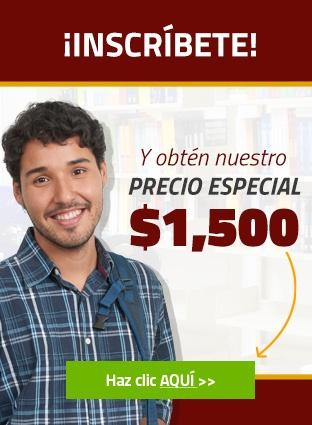 Universidad Interglobal - Precio especial $1,500