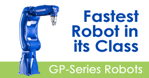 GP series high-speed industrial robots