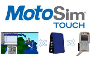 MotoSim Touch for Virtual STEM Classroom robotics