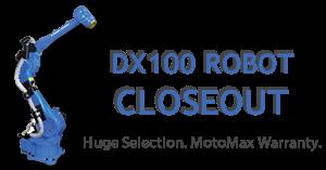 Motoman DX 100 Robot Closeout