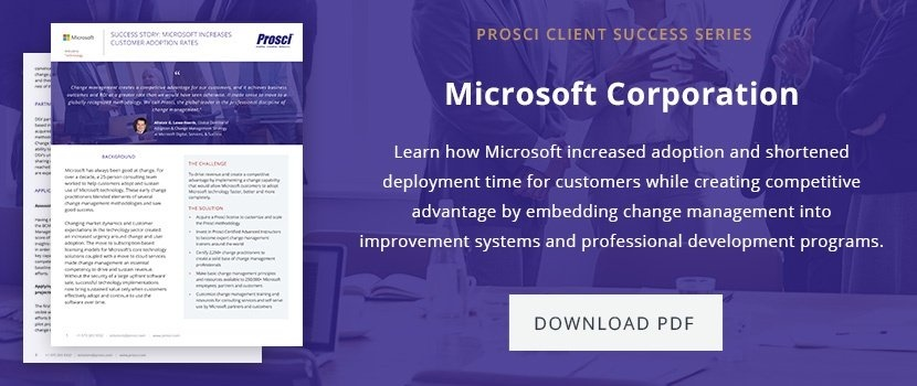 Microsoft success story