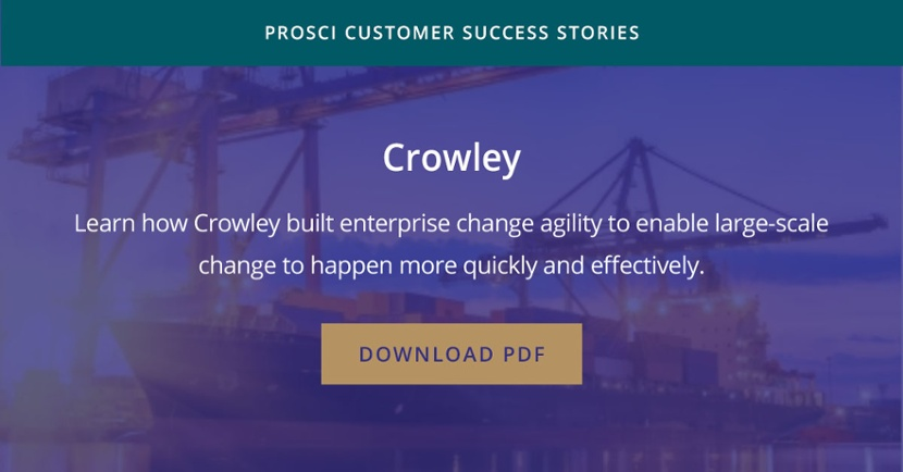 Crowley success story