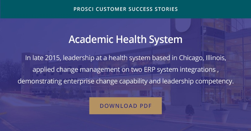 Academic Health System success story