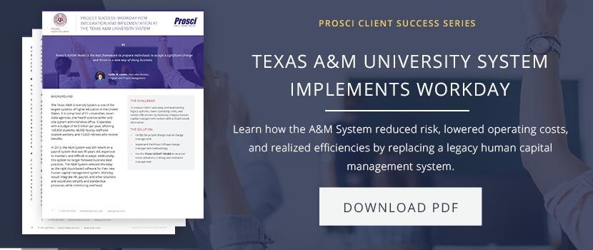 Texas A&M success story