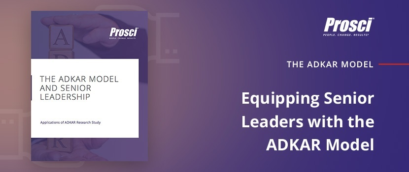 "Download ""Equipping Senior Leaders with the ADKAR Model"" research deep dive"