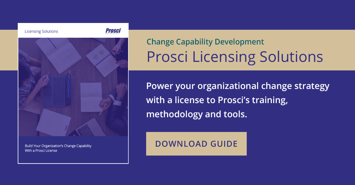 Image for Prosci Licensing Solutions