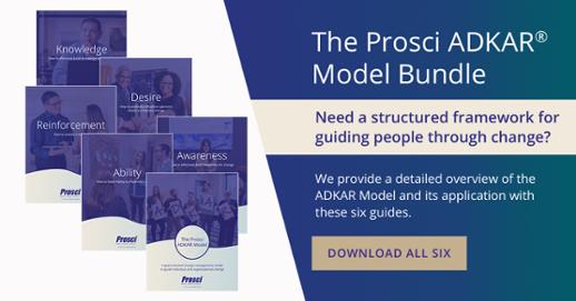 ADKAR Model Bundle