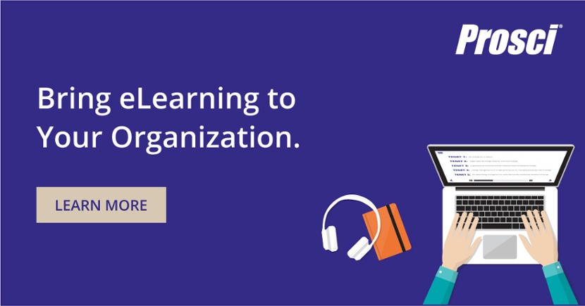 Bring Prosci eLearning to your organization!