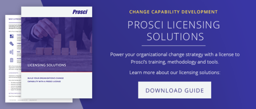 Download Prosci Licensing Guide