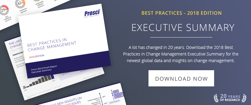 Best Practices in Change Management - 2016 Edition (FREE DOWNLOAD)