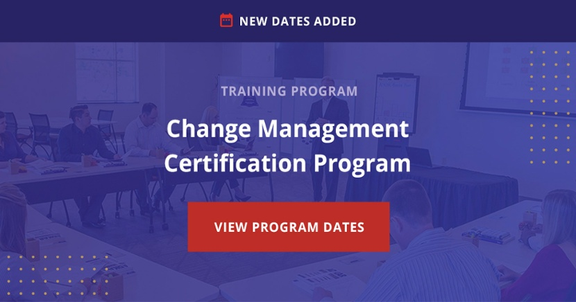 Earn your Change Management Certification
