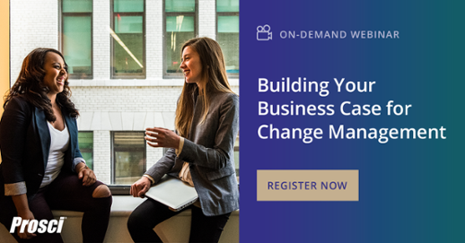 "Watch ""Building Your Business Case for Change Management"""