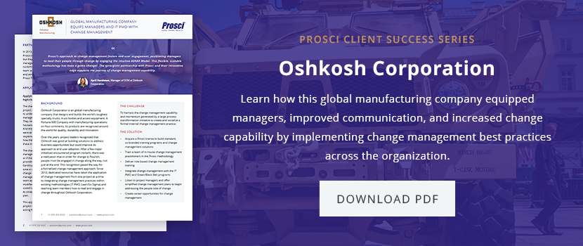 Oshkosh success story