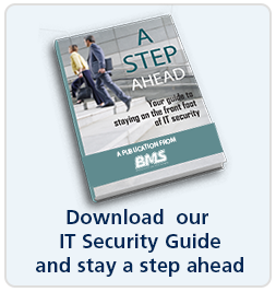 A step ahead - Your guide to staying on the front foot of IT security