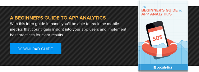 Download the Beginner's Guide to App Analytics by Localytics