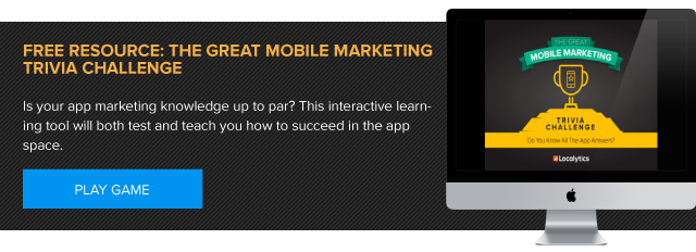Free Resource: The Great Mobile Marketing Trivia Challenge by Localytics