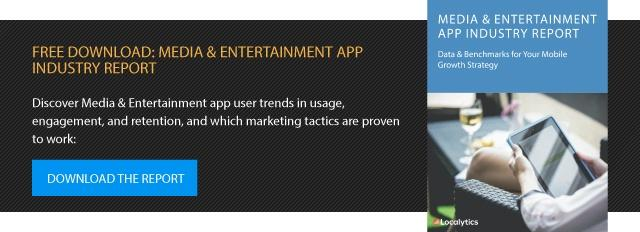 media and entertainment app industry report download