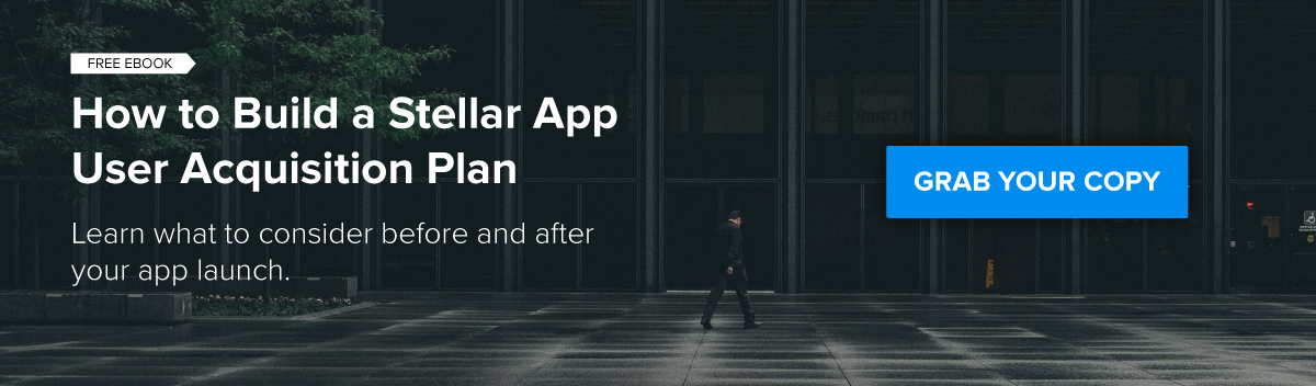 Stellar App Acquisition Campaign CTA