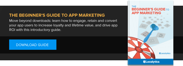 Download the Beginner's Guide to App Marketing by Localytics
