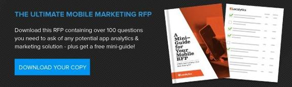 the ultimate mobile marketing RFP free download