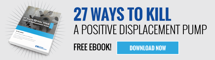 27 Ways To Kill A Positive Displacement Pump eBook