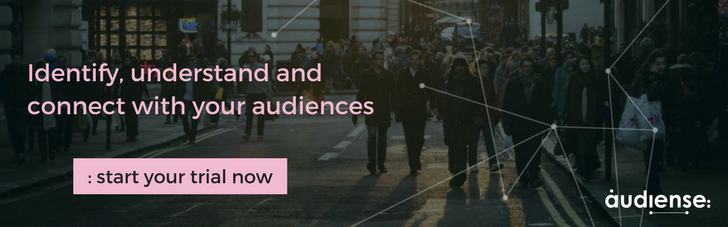 Identify, undesrtand and connect with your audiences. Start your Audiense trial now!