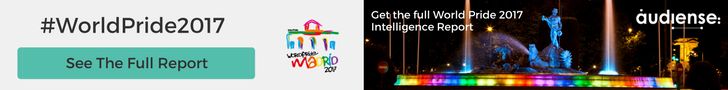 Get the full World Pride 2017 Intelligence Report - Audiense